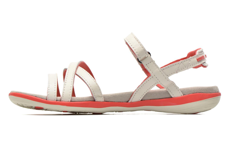 Sandales et nu-pieds TBS Rosita Blanc vue face