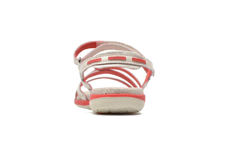 Sandales et nu-pieds TBS Rosita Blanc vue droite
