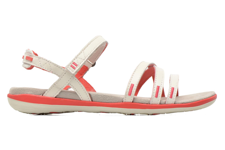 Sandales et nu-pieds TBS Rosita Blanc vue derrière
