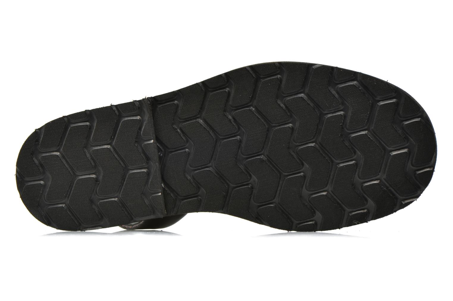 Sandals MINORQUINES Avarca Black view from above