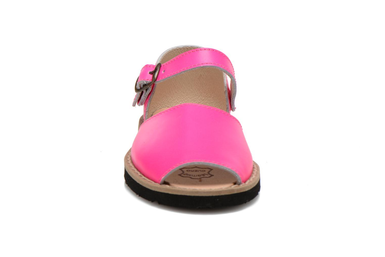 Sandalen MINORQUINES Frailera rosa schuhe getragen