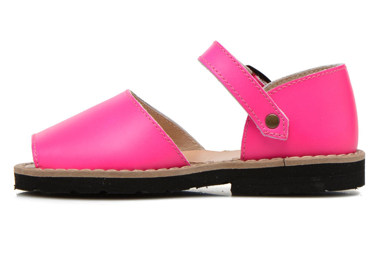 Sandalen MINORQUINES Frailera rosa ansicht von vorne
