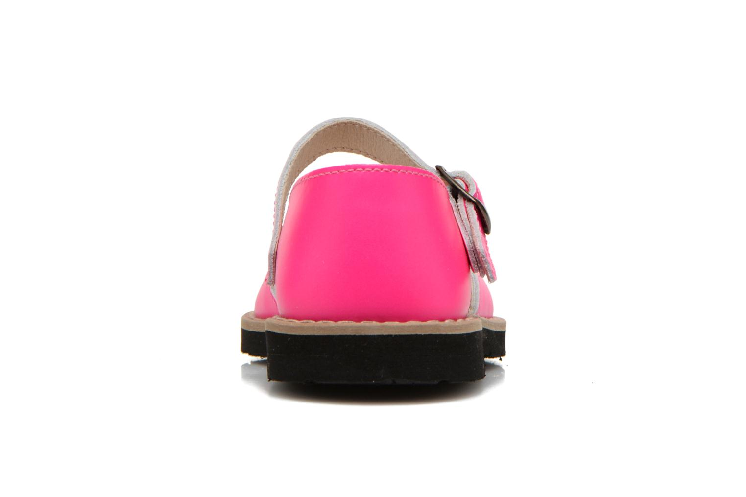 Sandals MINORQUINES Frailera Pink view from the right