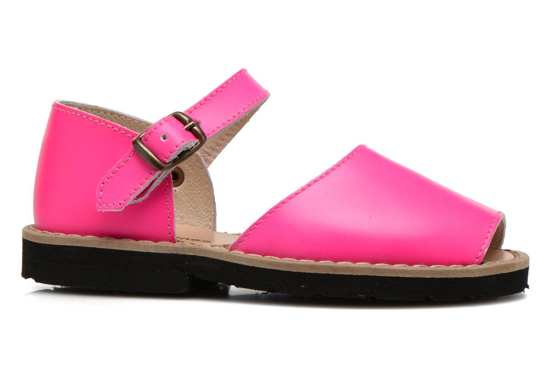 Sandalen MINORQUINES Frailera rosa ansicht von hinten