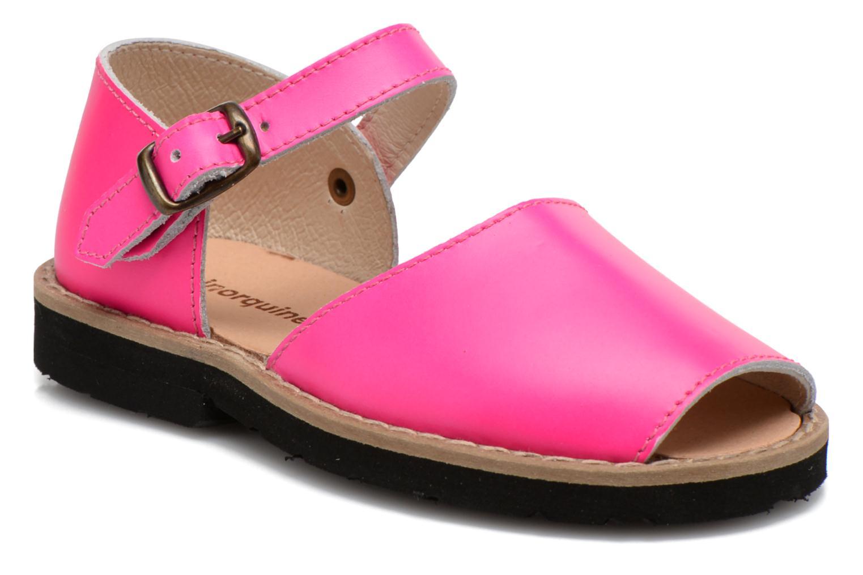 Sandalen MINORQUINES Frailera rosa detaillierte ansicht/modell