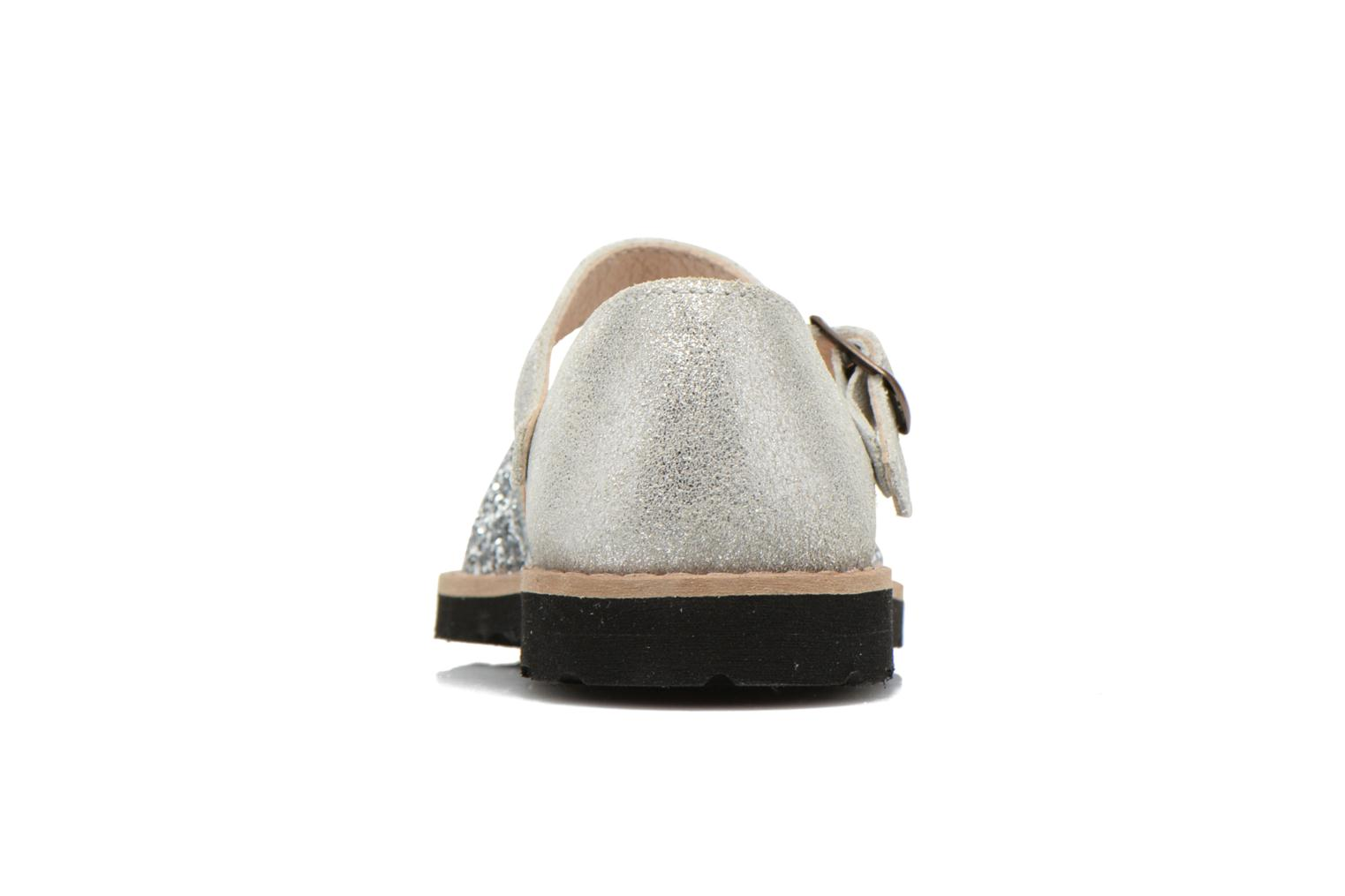Sandals MINORQUINES Frailera Silver view from the right