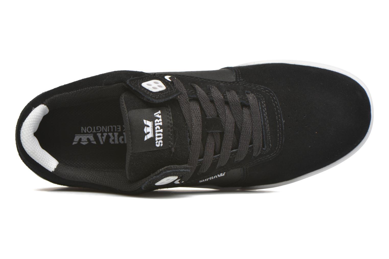 Chaussures de sport Supra Ellington Noir vue gauche