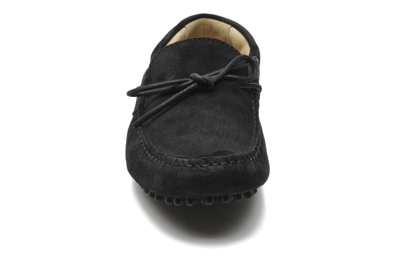 Mocassins Kost Tapalo Noir vue portées chaussures