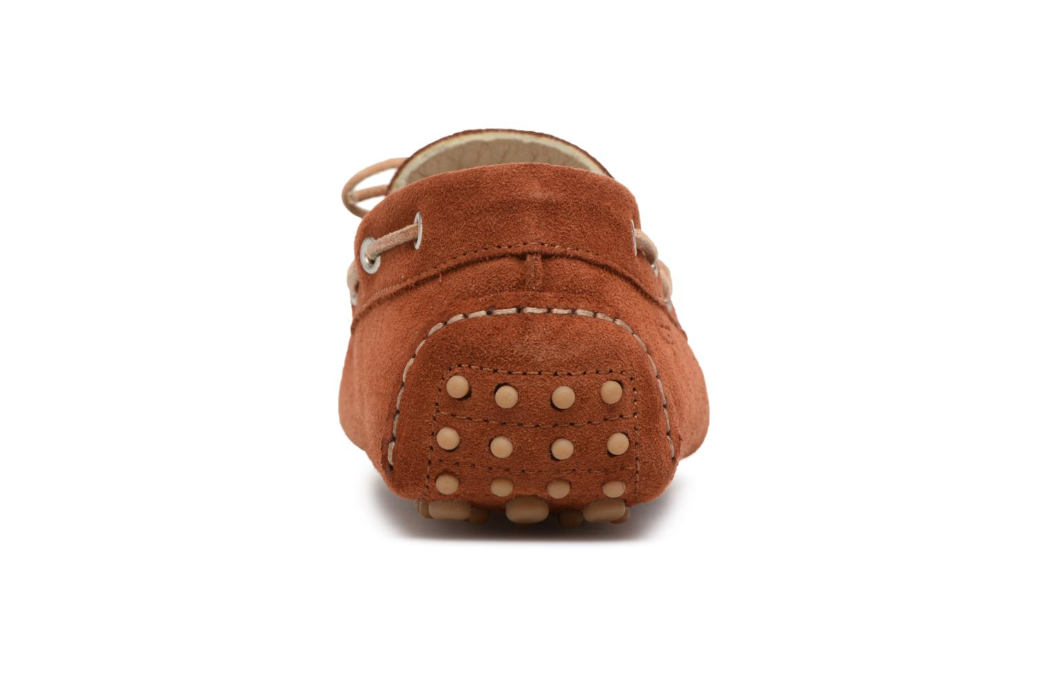 Loafers Kost Tapalo Brown view from the right