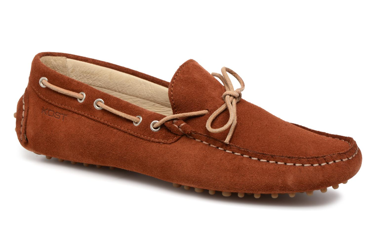 Loafers Kost Tapalo Brown detailed view/ Pair view