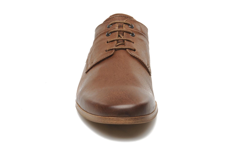 Chaussures à lacets Kost Fauchard47 Marron vue portées chaussures