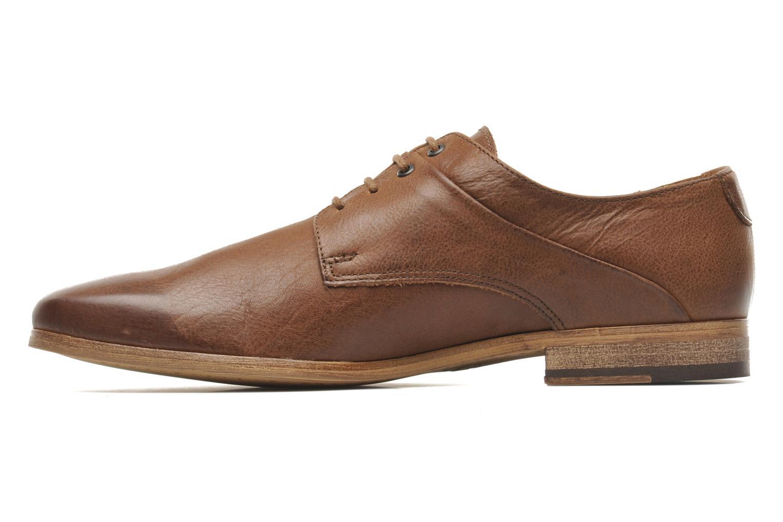 Chaussures à lacets Kost Fauchard47 Marron vue face