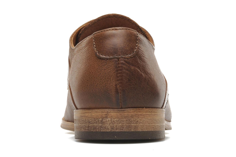 Chaussures à lacets Kost Fauchard47 Marron vue droite