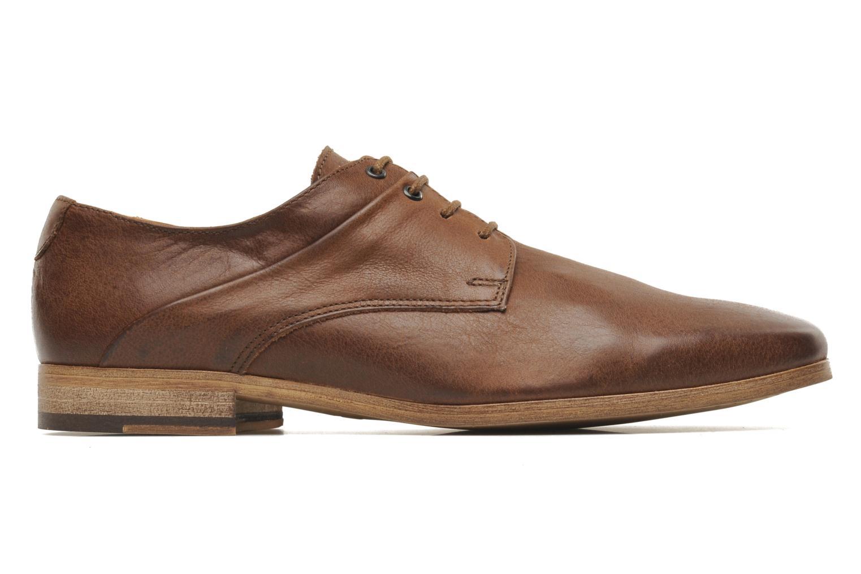 Chaussures à lacets Kost Fauchard47 Marron vue derrière