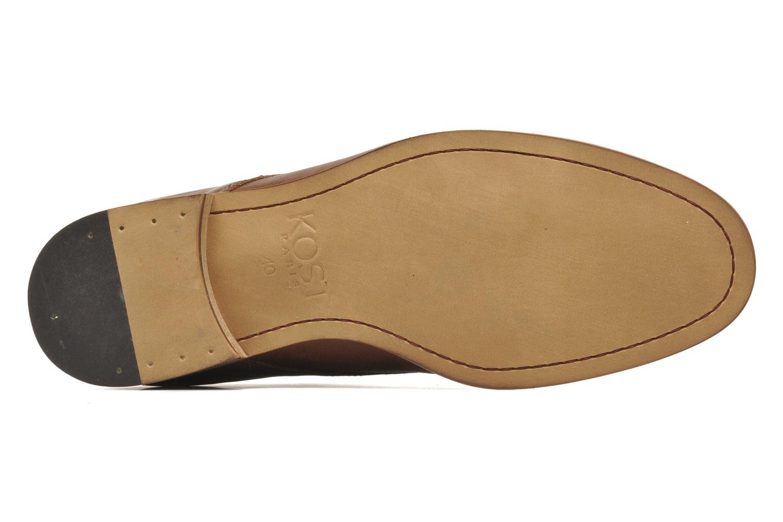 Chaussures à lacets Kost Fauchard47 Marron vue haut