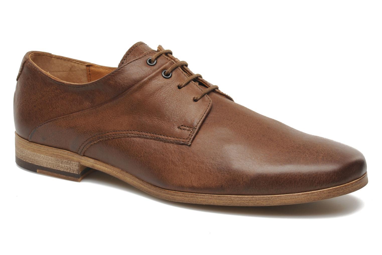 Chaussures à lacets Kost Fauchard47 Marron vue détail/paire