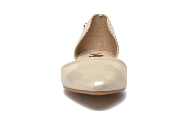 Ballerines Xti Cilu-27689 Or et bronze vue portées chaussures