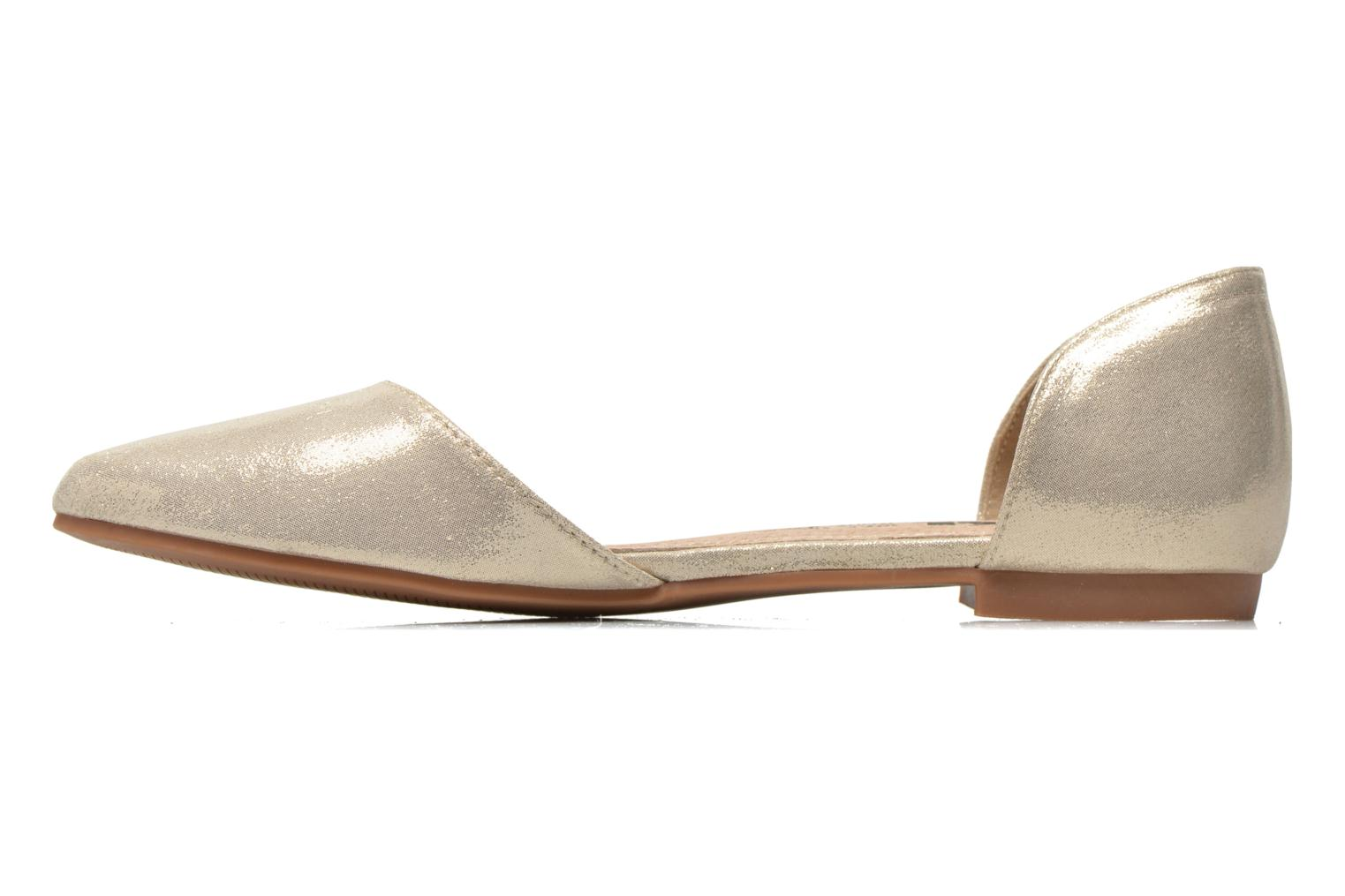 Ballet pumps Xti Cilu-27689 Bronze and Gold front view