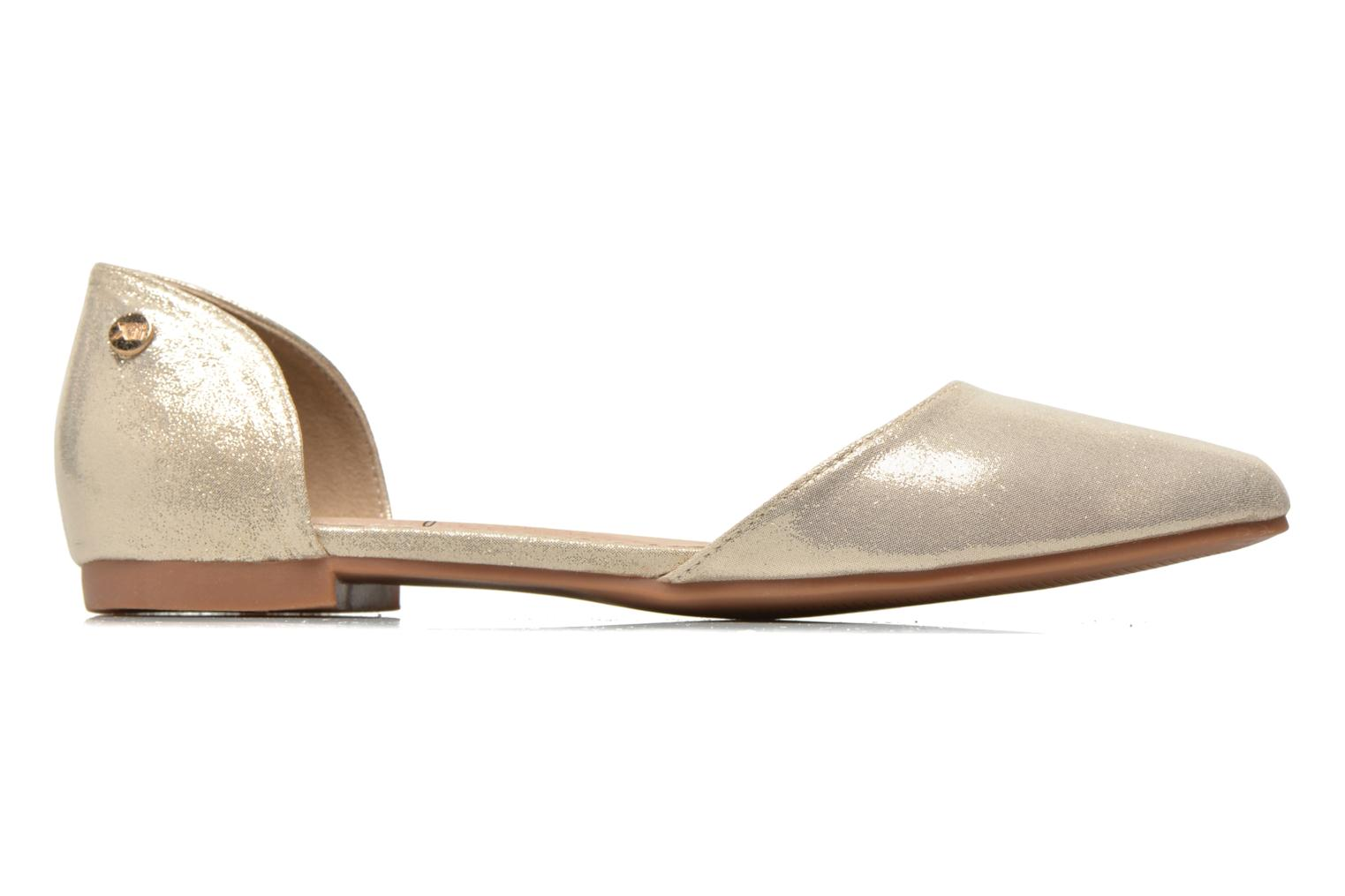 Ballet pumps Xti Cilu-27689 Bronze and Gold back view