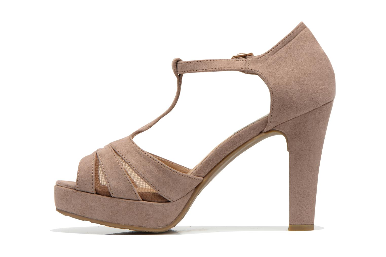 Sandals Xti Ieva-29697 Brown front view