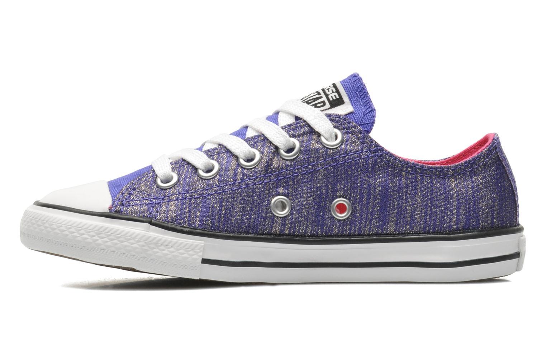 Sneakers Converse Chuck Taylor EA Coast SPK Paars voorkant