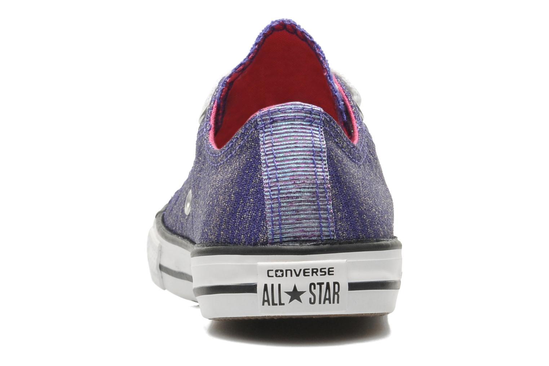 Sneakers Converse Chuck Taylor EA Coast SPK Paars rechts