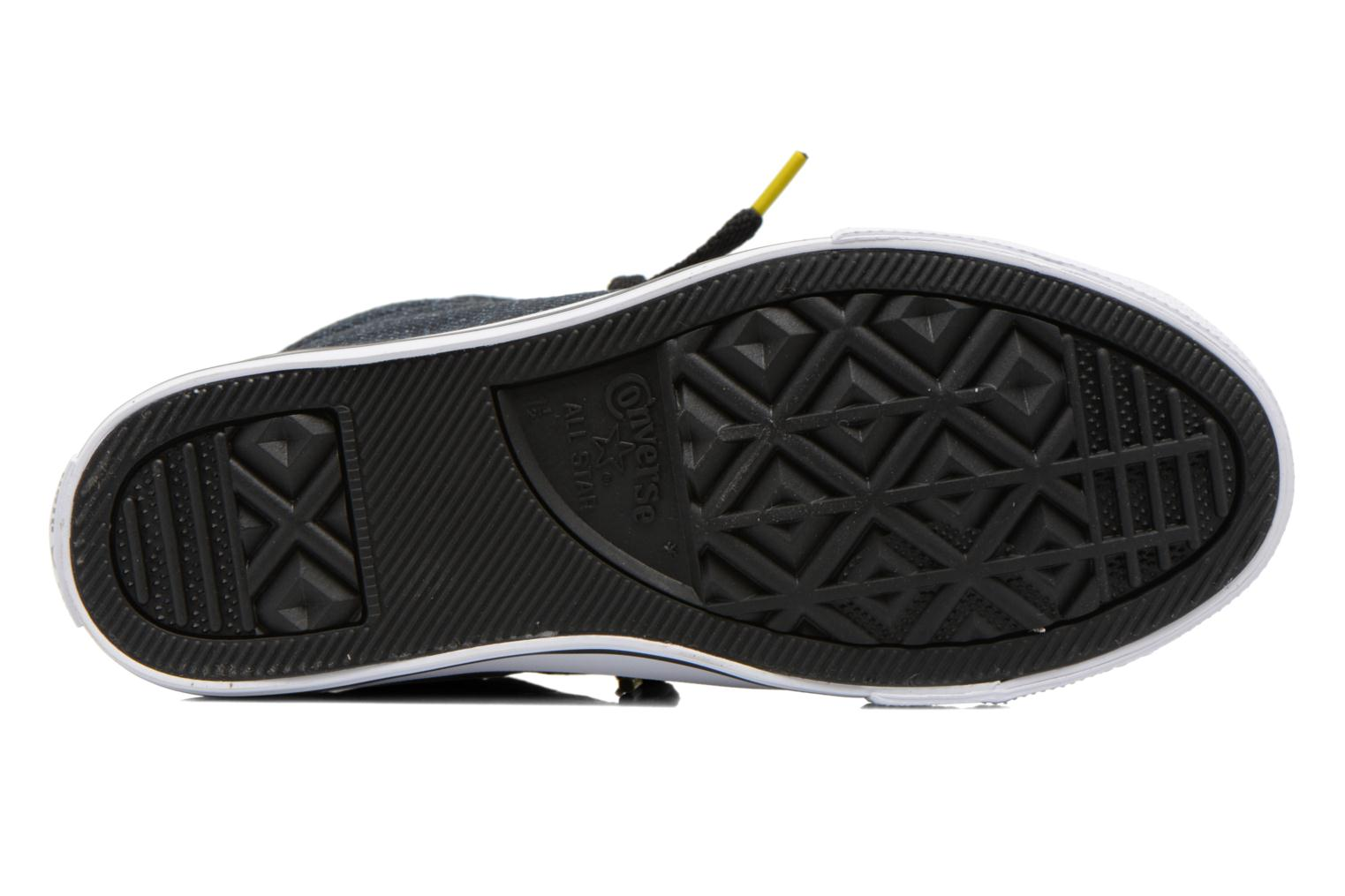 Chuck Taylor All Star Street Mid Black/white/yellow