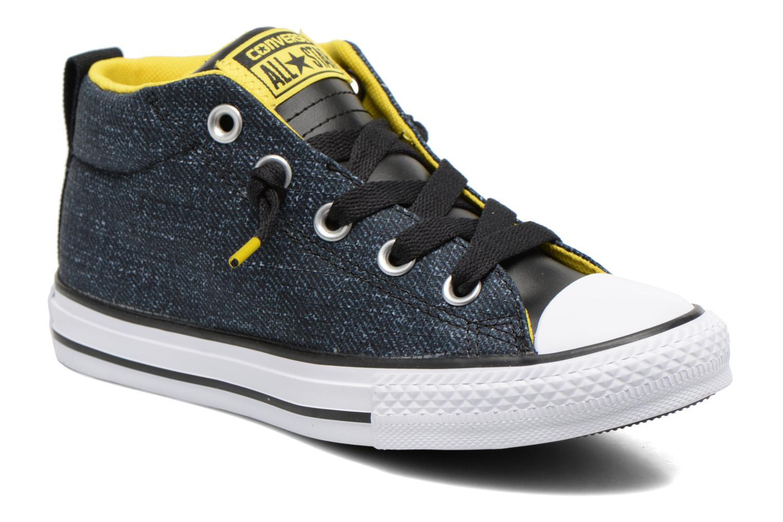 Chuck Taylor All Star Street Mid Black/white/yellow