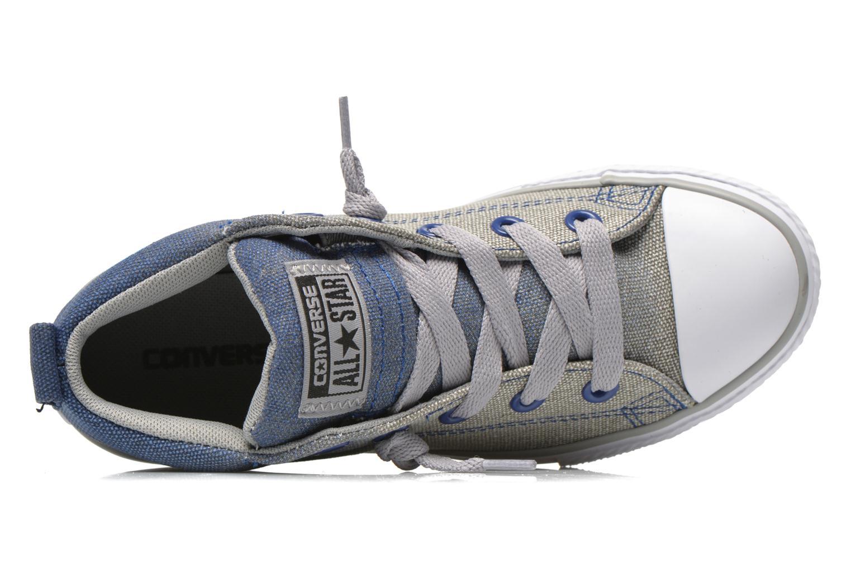 Baskets Converse Chuck Taylor All Star Street Mid Bleu vue gauche