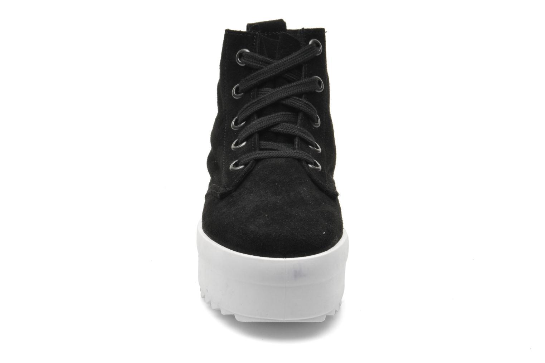 Baskets Shellys London Murci Noir vue portées chaussures