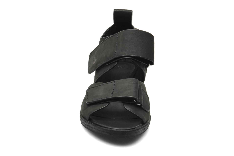 Sandalen Shellys London Janko schwarz schuhe getragen