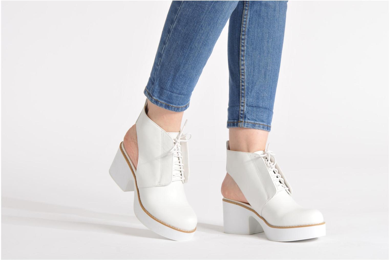 Bottines et boots Shellys London Michellton Noir vue bas / vue portée sac