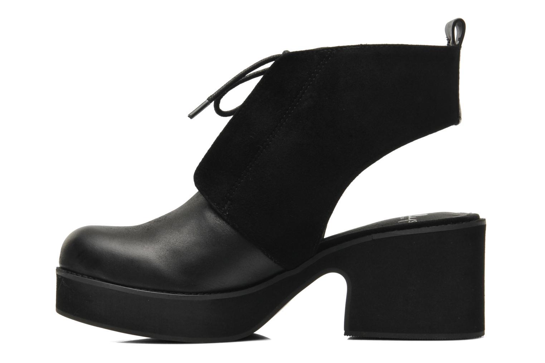 Bottines et boots Shellys London Michellton Noir vue face