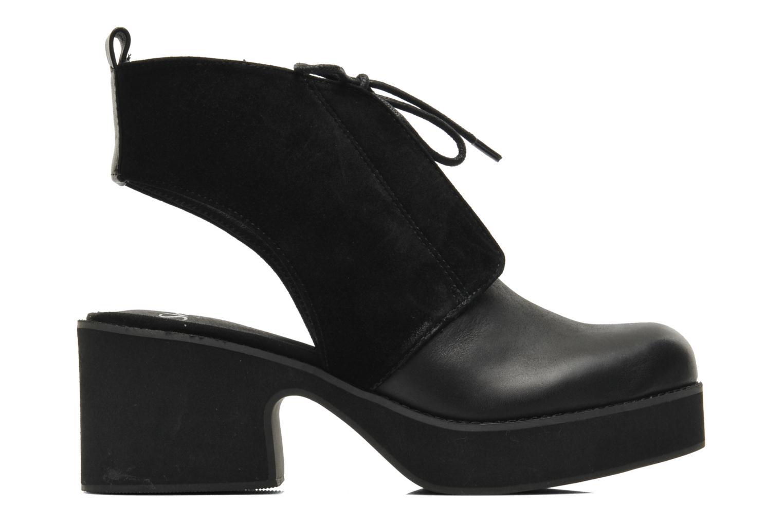 Bottines et boots Shellys London Michellton Noir vue derrière