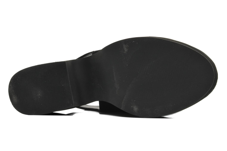 Bottines et boots Shellys London Michellton Noir vue haut
