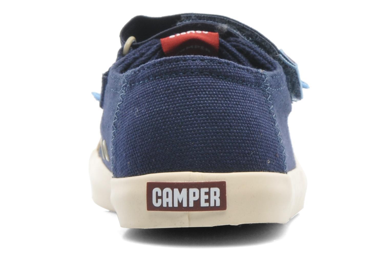 Baskets Camper Peu 80473 Bleu vue droite