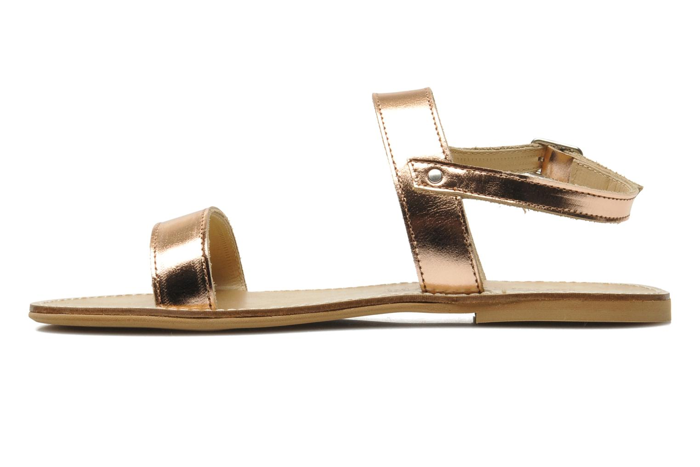 Sandales et nu-pieds Manuela de Juan Helena Rose vue face