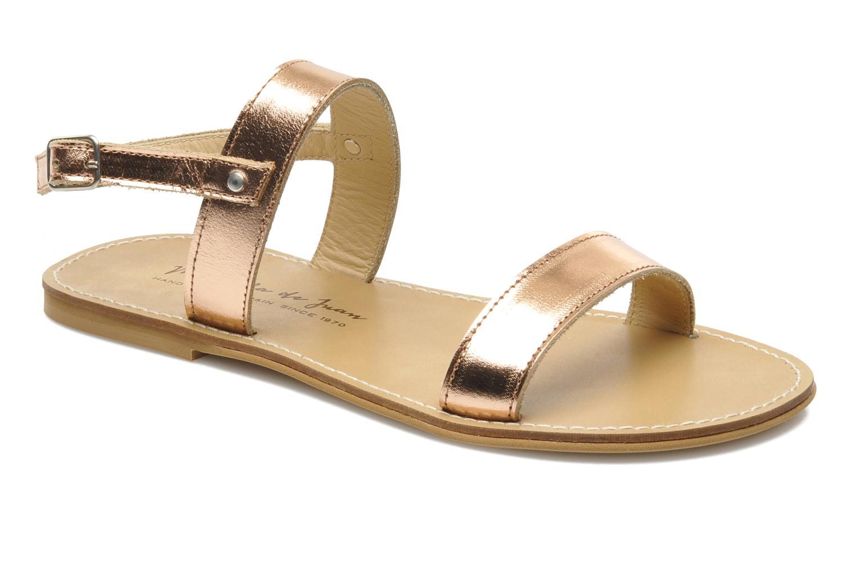 Sandales et nu-pieds Manuela de Juan Helena Rose vue détail/paire