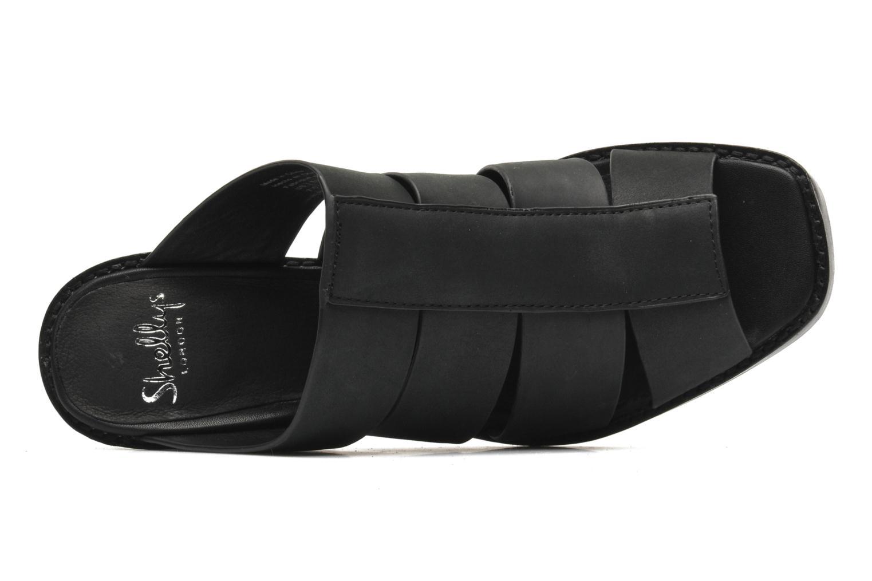 BARDY Black leather