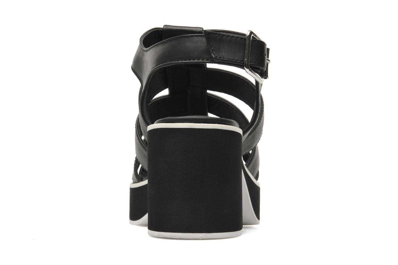 NYDILLA Black leather