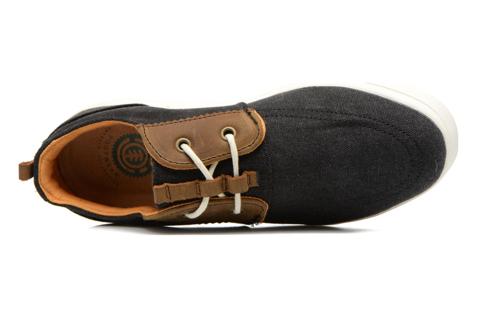 Trainers Element Catalina Black view from the left