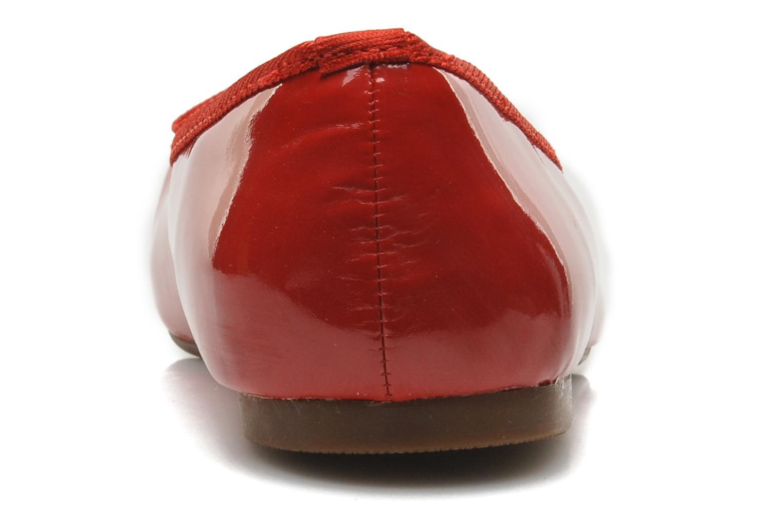 Ballerine classique vernis Rouge