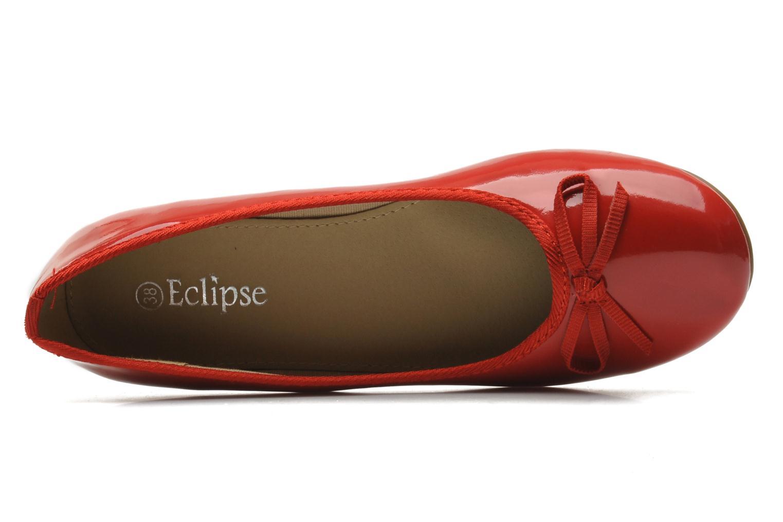 Ballerinas Eclipse Ballerine classique vernis rot ansicht von links