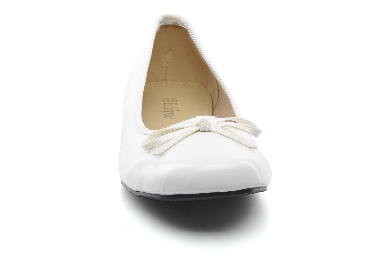 Ballerine classique vernis Blanc