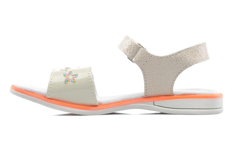 Sandals GBB IRAIS Grey front view