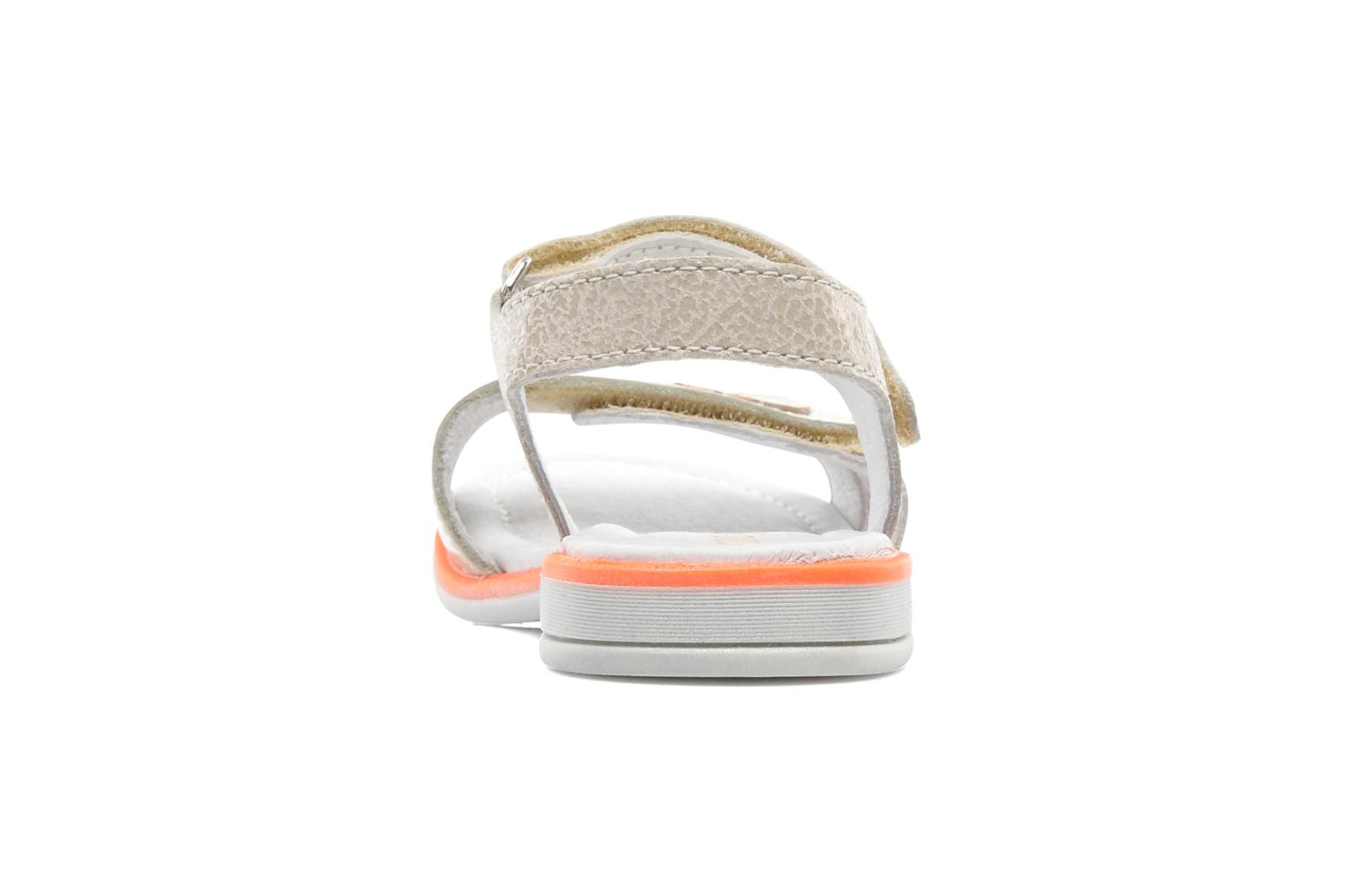 Sandals GBB IRAIS Grey view from the right