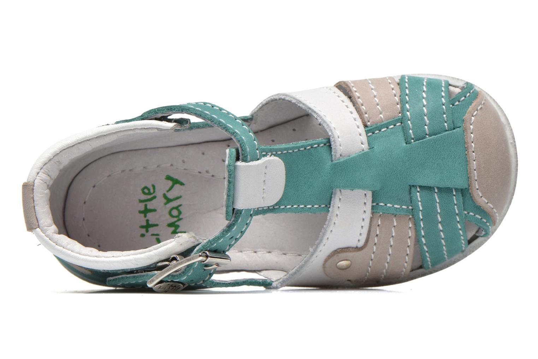 Sandalen Little Mary SHOOT grün ansicht von links