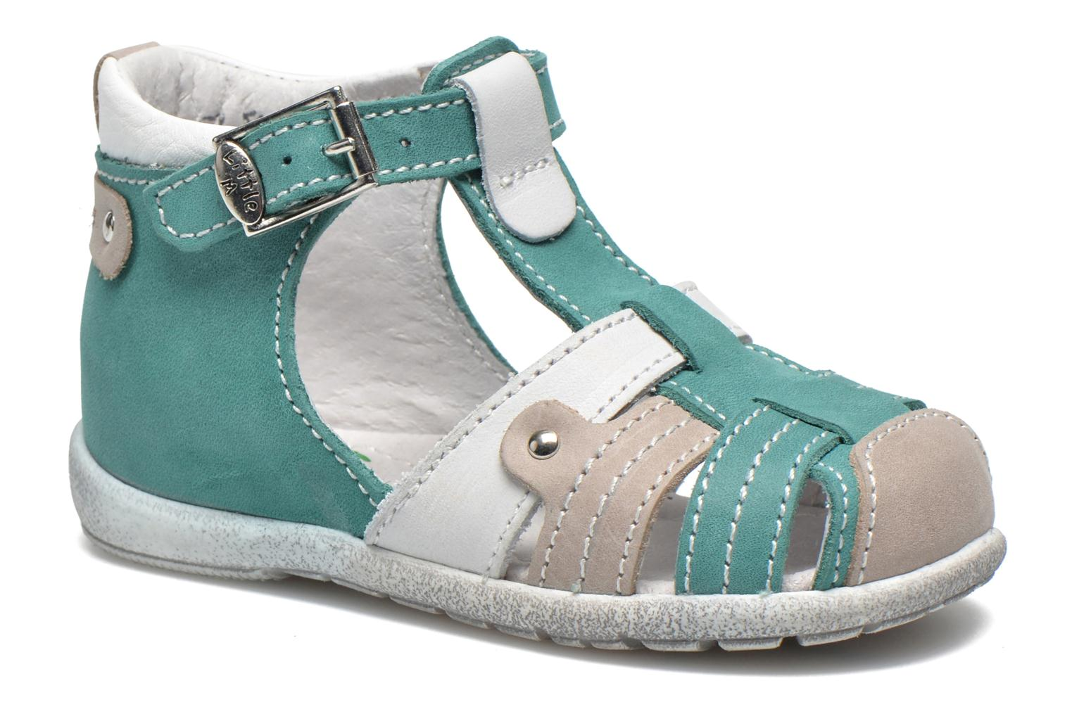 Sandals Little Mary SHOOT Green detailed view/ Pair view