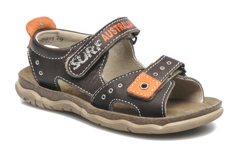 Sandales et nu-pieds Little Mary SURFER Marron vue détail/paire