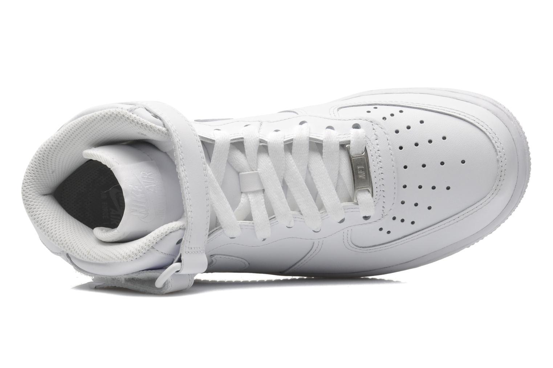 Baskets Nike Wmns Air Force 1 Mid '07 Le Blanc vue gauche